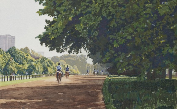 'Horse Riding in Hyde Park' Sold