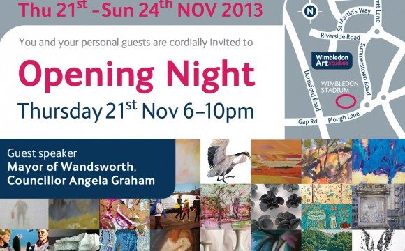 Wimbledon Art Studios Open Exhibition 21-24 November