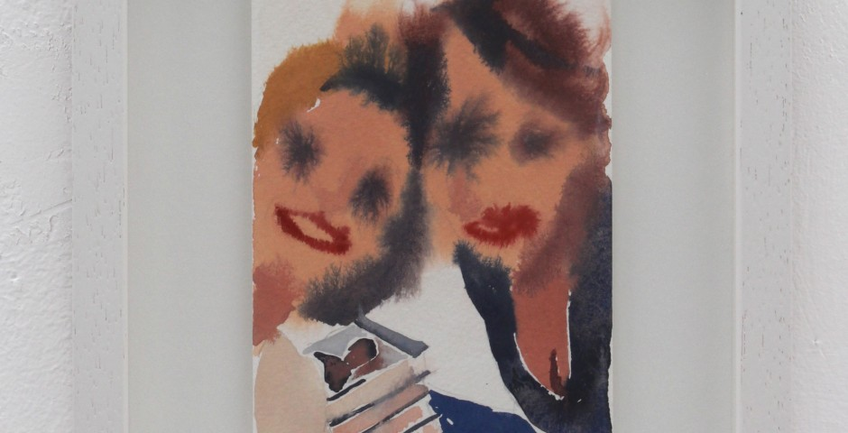 Selfie with Tracey, 20 x 25cm, SOLD