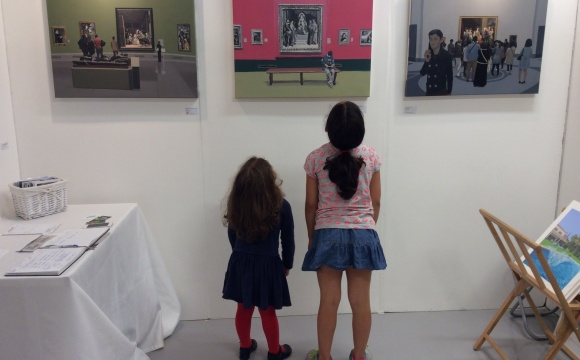 The Other Art Fair, Stand 121, April 2015