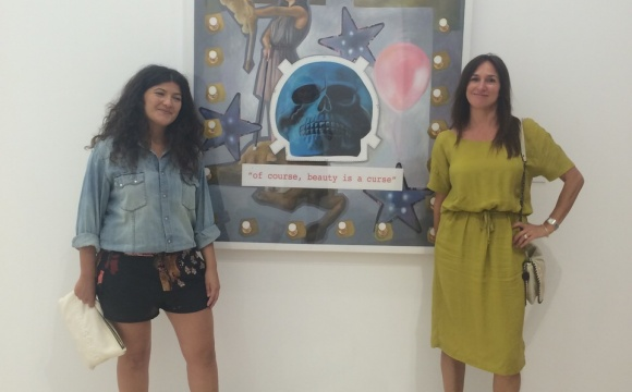 'Beauty' opening party at MAD. Antequera