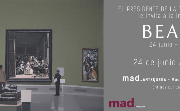 Invite| 24th June at 8pm| Beauty| MAD Antequera
