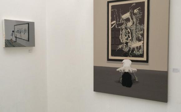 Open Studios exhibition photos