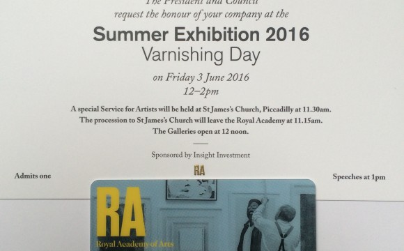 Varnishing Day | RA Summer Exhibition 2016