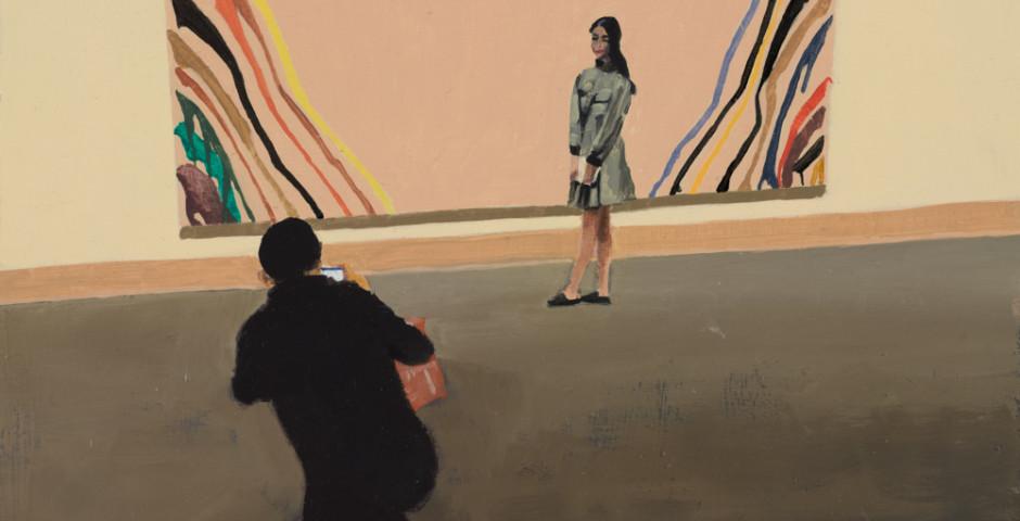 Strika a Pose, 2018, 25 x 25cm