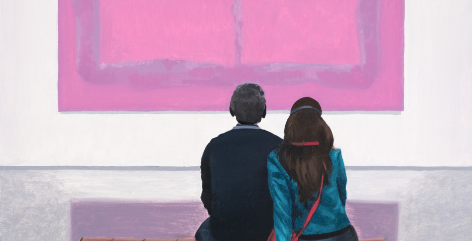 Listening to Rothko's Pink, 2018, 30 x 40cm, £800